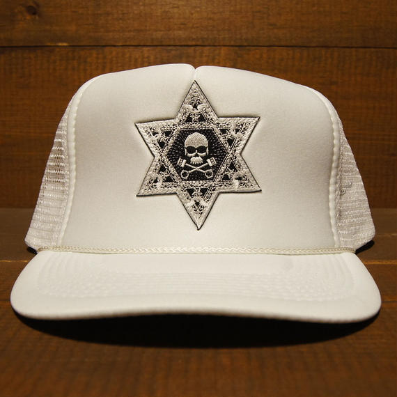 2018 JOHNNY CAP 【WHITE】HEXAGON×F.T.W