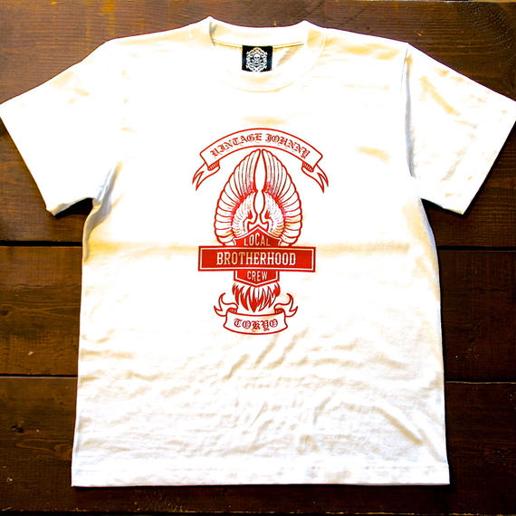 2017 JOHNNY  T-SHIRTS  【WHITE】