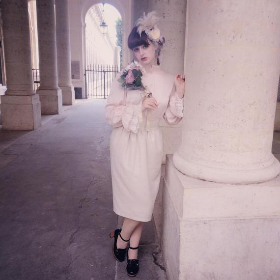 Carmelina - Tweed pencil skirt