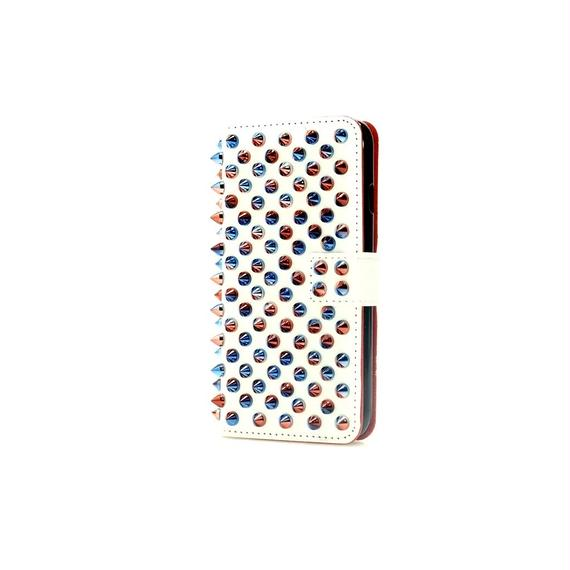iPhone8 iPhone7専用ケース スタッズ 手帳型 VLENDAオリジナル