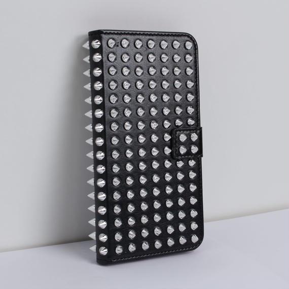 iPhone6/6S専用ケース スタッズ 手帳型 VLENDAオリジナル