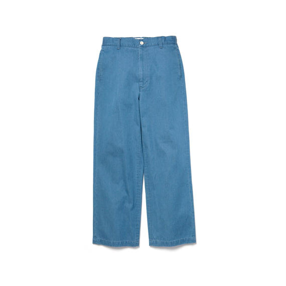5 POCKETS WIDE DENIM PANTS