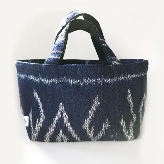 INDIGO TOTE BAG: OCEAN BLUE