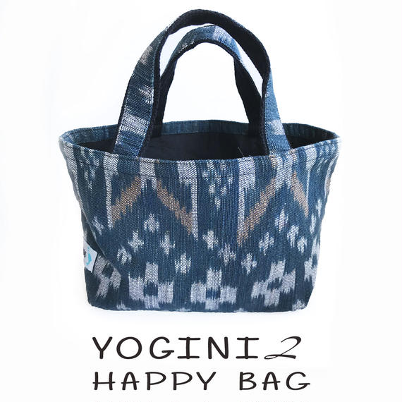 2018HAPPY BAG:  YOGINI ② - BLUE CORALヨガパンツ+ シークレットビキニセット +VOCIANA INDIGO TOTE BAG