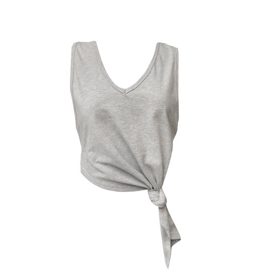 FIT: SEA SHORE CROP TOP - GRAY