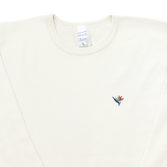 """Birds Of Paradise"" Thermal shirt"
