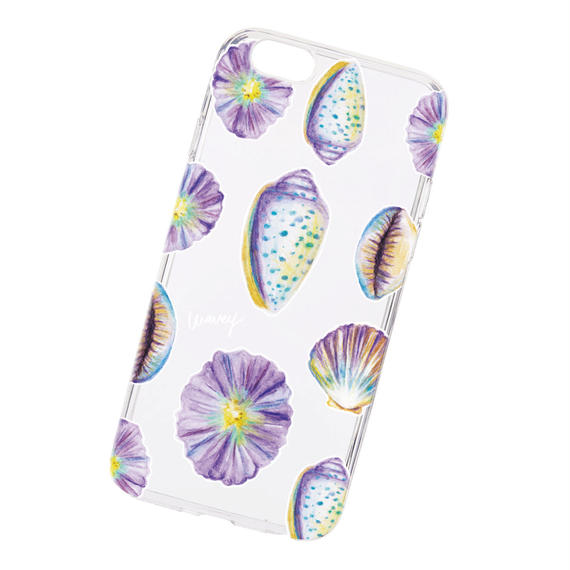 """""""Shellable"""" collection -seashells- iPhone case"""