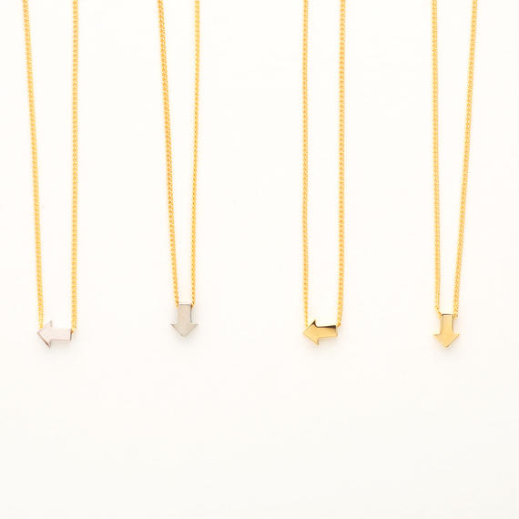 Arrow sign necklace