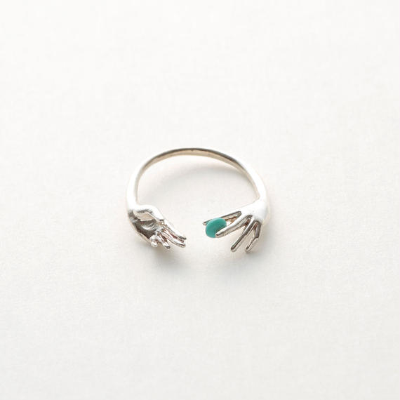 Throw into the sea ring (Silver)