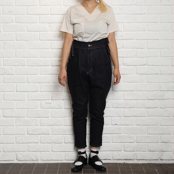 【Aquvii wardrobe】aq506 / POLSKA (LINE PANTS)