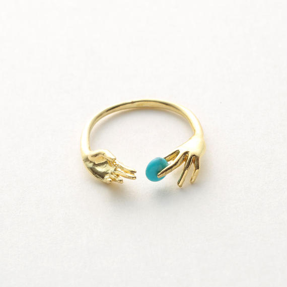 Throw into the sea ring (Gold)