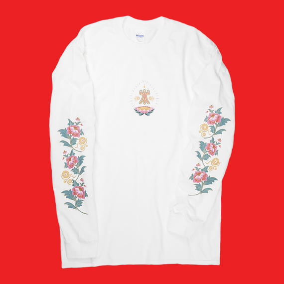 "NEW YEAR ""KOTOBUKI"" LONG SLEEVE (WHITE)"
