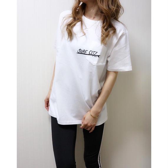SURF CITY Tシャツ【WHITE】