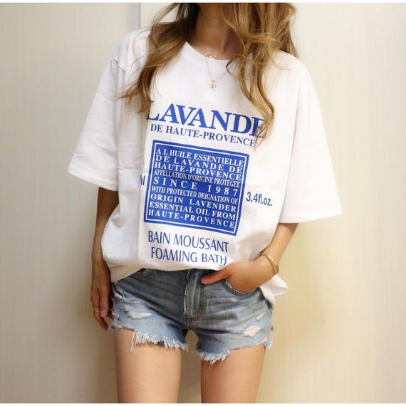 ロゴプリントTシャツ【WHITE】