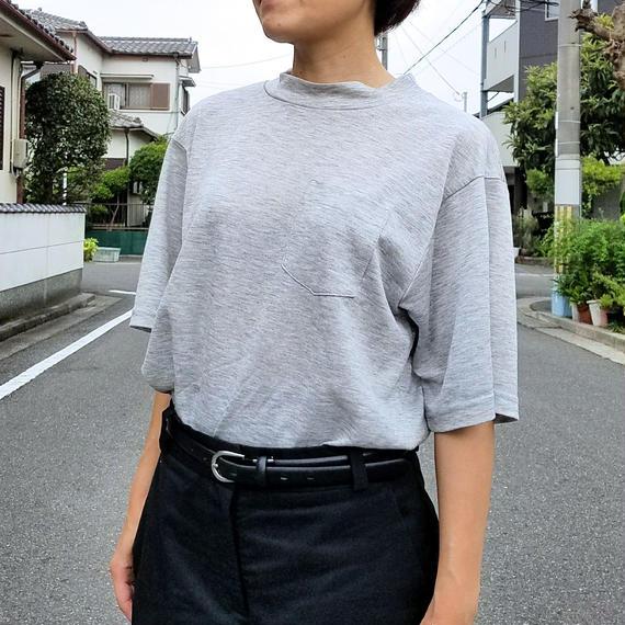 リネンニットTシャツ