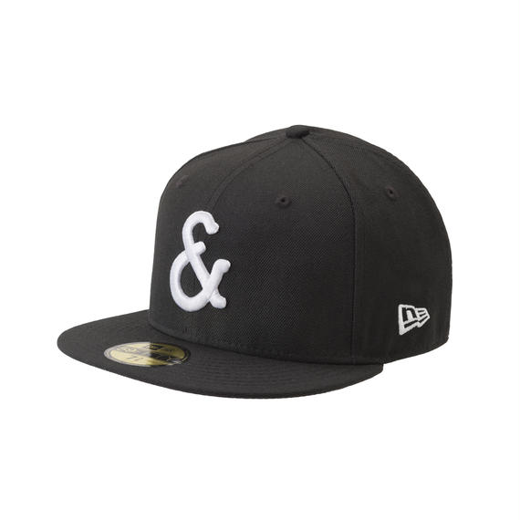"BLACK & BLUE / NEW ERA 59FIFTY  "" & Mark """