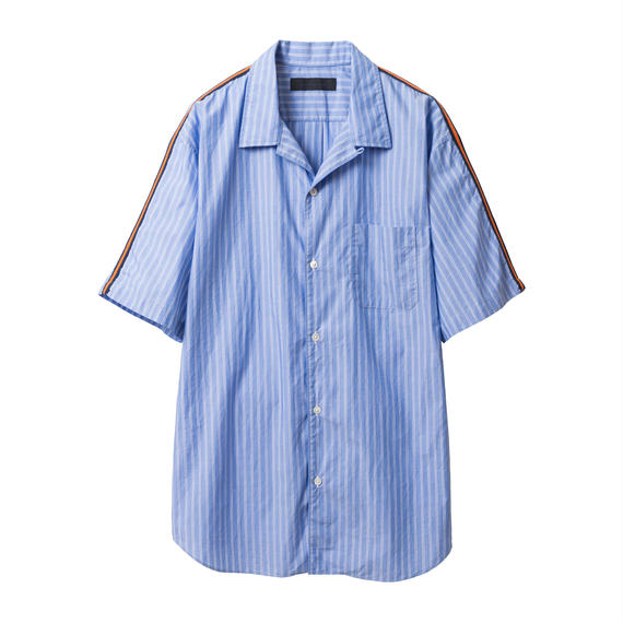 BLACK & BLUE / Sleeve Line S/S Shirts
