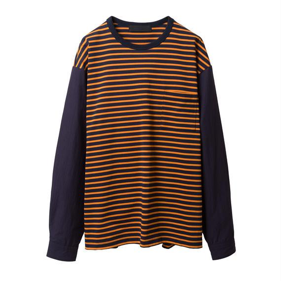BLACK & BLUE / Shirts Sleeve TEE