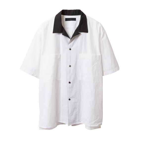 BLACK & BLUE / Bicolor One-Up Shirts