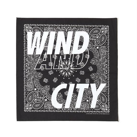CITY SHOP BANDANA / BLACK (AC-17)