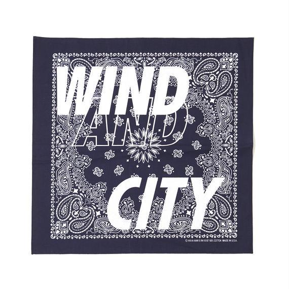 CITY SHOP BANDANA / BLUE (AC-17)