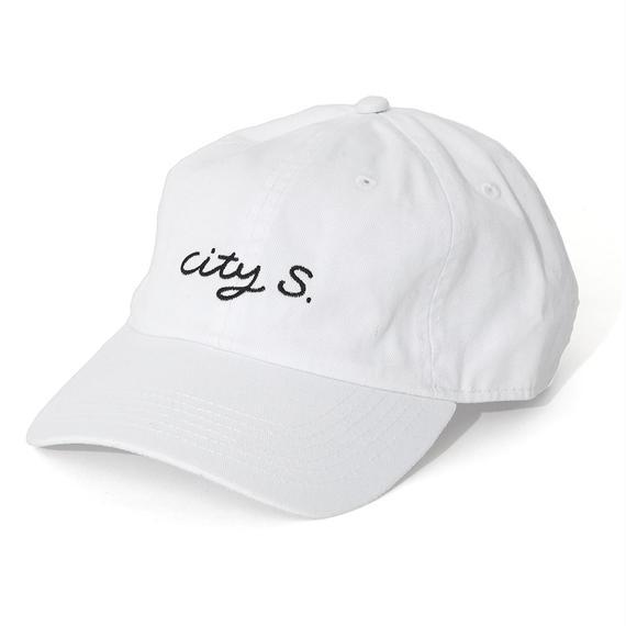 CITY SHOP CAP / WHITE (AC-13)