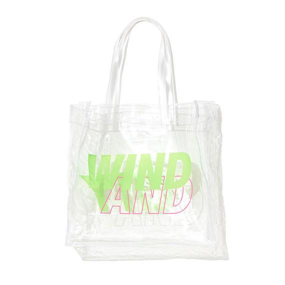 CITY SHOP CLEAR BAG / GREEN (AC-16)