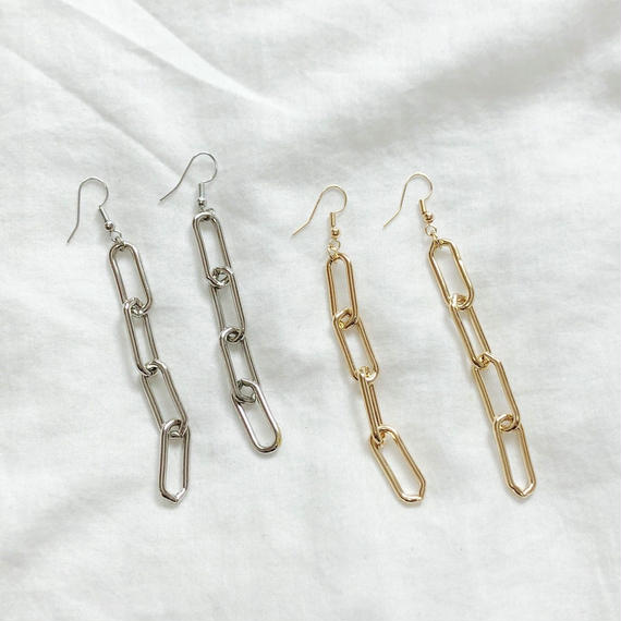 [Hand made]Chain Earrings