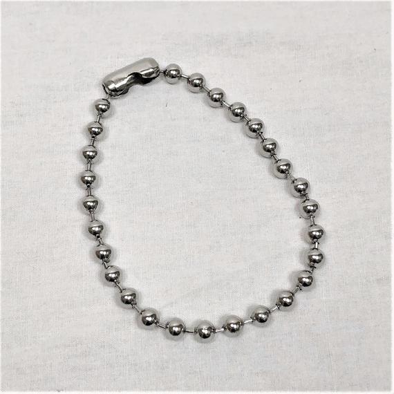 予約注文受付10/29-11/8[Hand made]Surgical Ball Chain Choker
