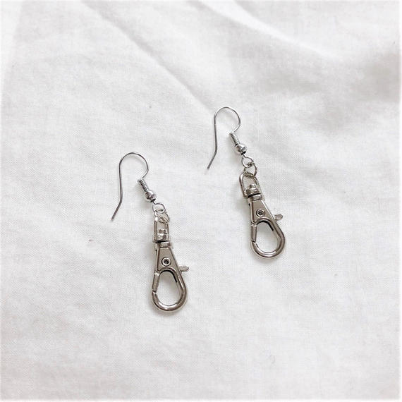 [Hand made]Swivel Hook Earrings
