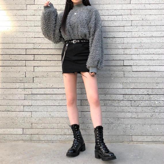 Poodle knit (3colours)