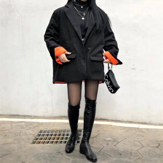 Oversized Short Coat