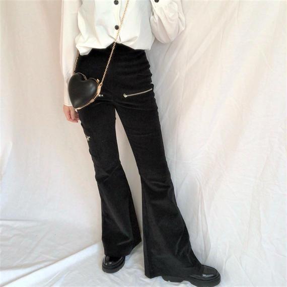 Corduroy Boots Cut Pants