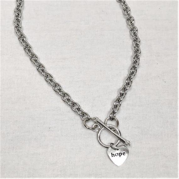 予約注文受付10/29-11/8[Hand made]Surgical HOPE Necklace