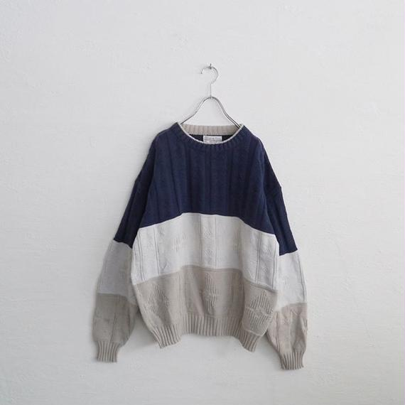 Cristian Dior cotton knit sweater