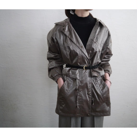 MADE IN UKRAINE NYLON SHORT COAT