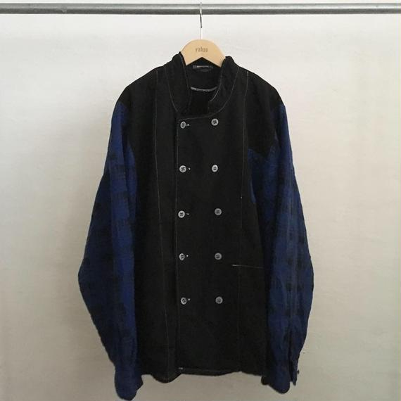 【ICHIRYU MADE】DOUBLE BREASTED PLAID COCK SHIRT JACKET ②