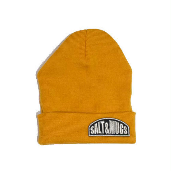 Patch knit cap