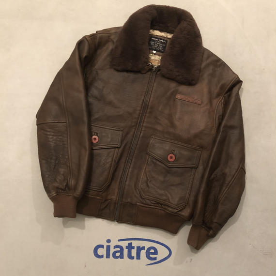 80s VICTORY CLUB G-1 Flight Jacket