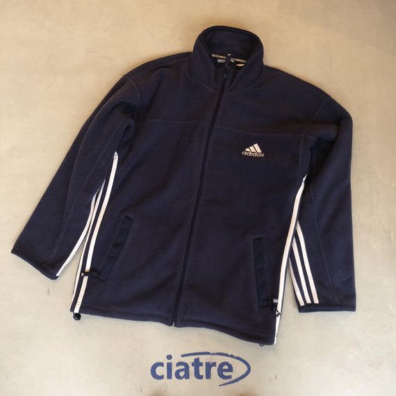 90s adidas Zip-Up Fleece Jacket
