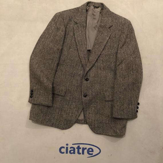 70s Harris Tweed Tailored Jacket