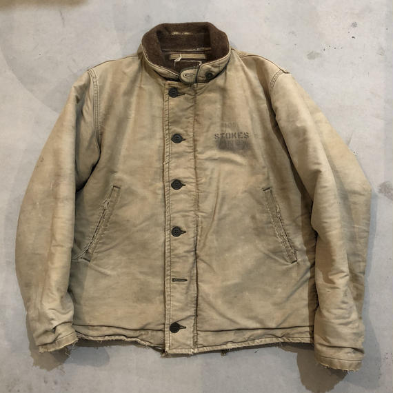 40s U.S.NAVY N-1 Deck Jacket