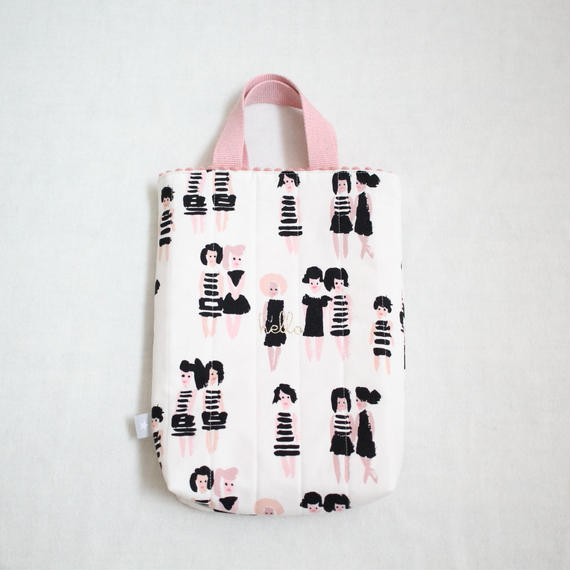 2018ss girl's 入園入学グッズ 単品 shoes bag BIG 'girls'