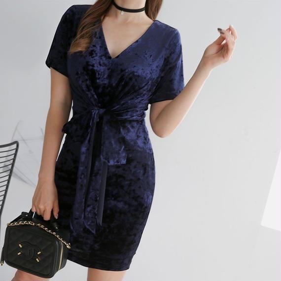 【スタイル良く魅せる】いい女の金曜日DRESS【オーラ溢れるいい女】◆コートやダウンの下の脱いだらドッキリドレス◆