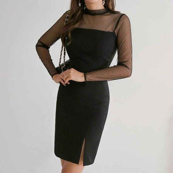【デートに、お社交にぴったり!】いい女の金曜日ドレス【2サイズ&カラー】