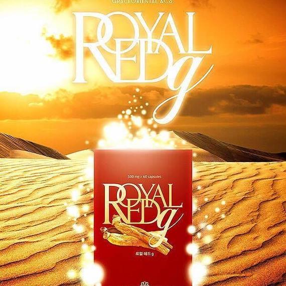 【2箱セット】高濃度高麗人参濃縮紅参エキス ROYAL RED G【120粒一粒当たり約80円!】