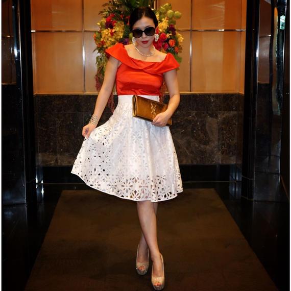 ◆11月10日22時から12日午前9時まで限定販売◆QEEN  LADYセットアップ【スカートとトップスのセットアップ】