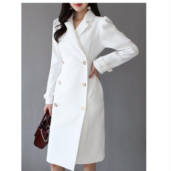 【高級感ありブティイクライン】★163cmモデル着用★美人オーラ満載なスプリングコート【ユヒャンおすすめ】