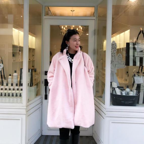 【11月30日まで3,000円オフ】2way女優コート【暖かくてお顔映り華やか】