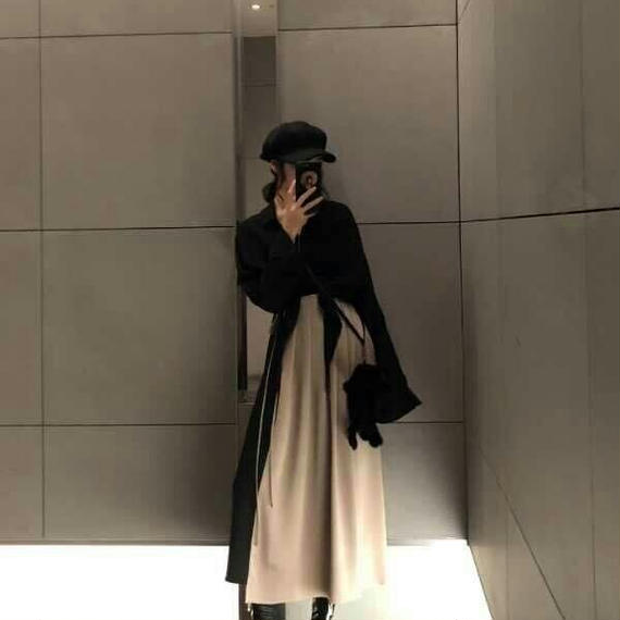 【秋】大人のアーバンオータムスタイルレディセットアップ【ワンピースとシャツボレロのセット】